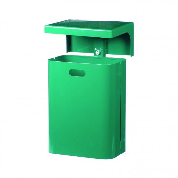 Rechteck-Abfallbehälter mit Dach - Inhalt ca. 45 Liter