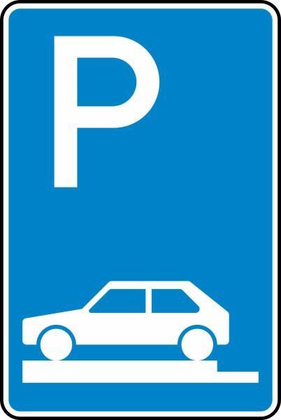 Parken auf Gehwegen Nr. 315-80 nach STVO