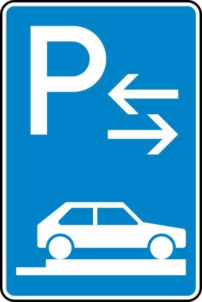 Parken auf Gehwegen Mitte Nr. 315-88 nach STVO