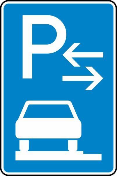 Parken auf Gehwegen Mitte Nr. 315-63 nach STVO