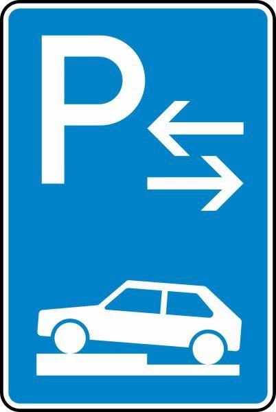 Parken auf Gehwegen Mitte Nr. 315-73 nach STVO