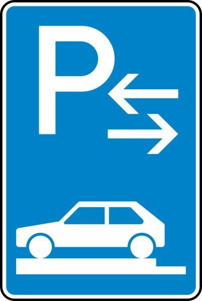 Parken auf Gehwegen Mitte Nr. 315-83 nach STVO