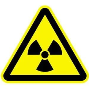 Warnung vor radioaktiven Stoffen...