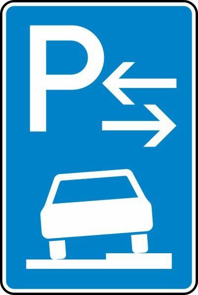 Parken auf Gehwegen Mitte Nr. 315-58 nach STVO
