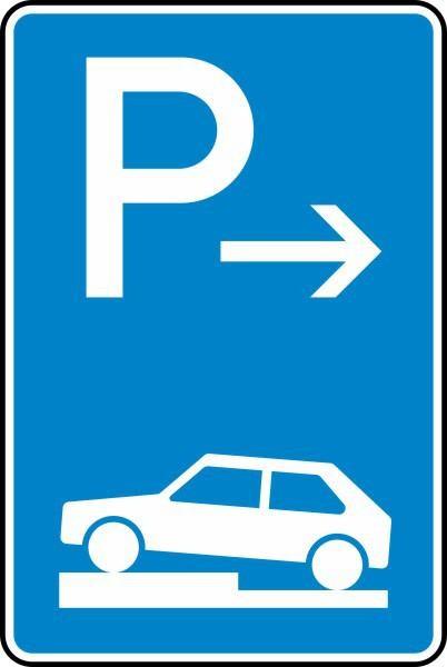 Parken auf Gehwegen Anfang Nr. 315-71 nach STVO