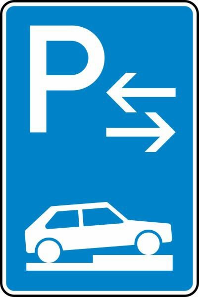 Parken auf Gehwegen Mitte Nr. 315-78 nach STVO