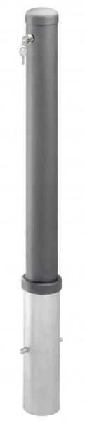 Stilpoller Ø95mm, herausnehmbar, ohne Schloss, zum Einbetonieren