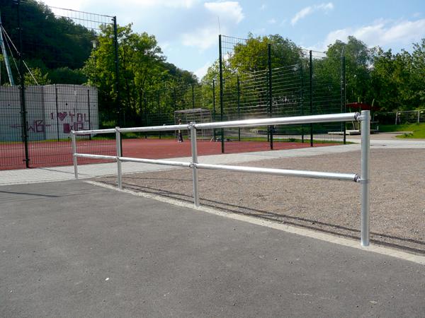 Verkehrsschutzgitter-System - Querrohr, Ø 60 mm, verschiedene Längen
