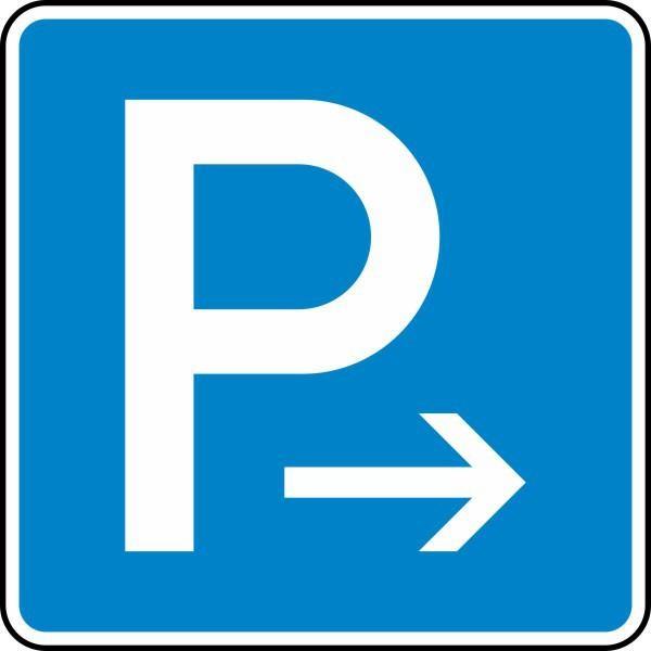 Parken Ende (Rechtsaufstellung) Nr. 314-20 nach STVO