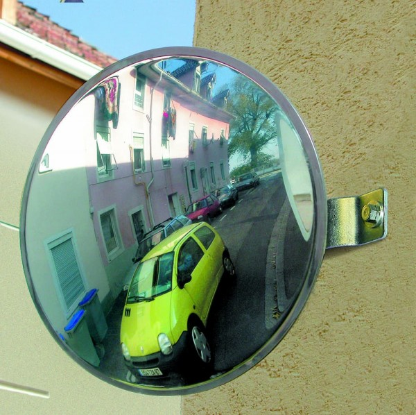 Spiegel für Privatausfahrten Vialux®, in Polymir®-Qualität, Ø 300 mm