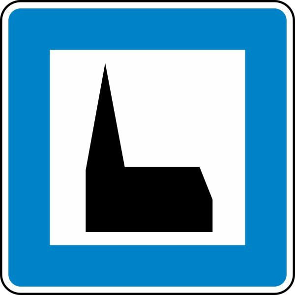 Autobahnkapelle Nr. 365-59 nach STVO