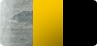 verzinkt + gelb mit schwarzen Warnstreifen