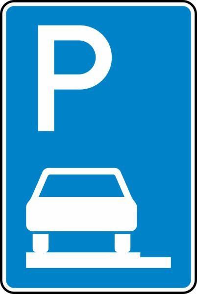 Parken auf Gehwegen Nr. 315-60 nach STVO