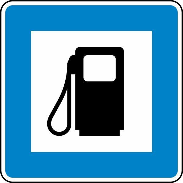 Tankstelle Nr. 365-52 nach STVO