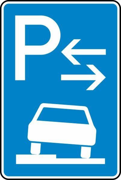 Parken auf Gehwegen Mitte Nr. 315-53 nach STVO