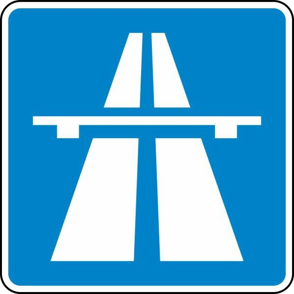 Autobahn Nr. 330.1 nach STVO