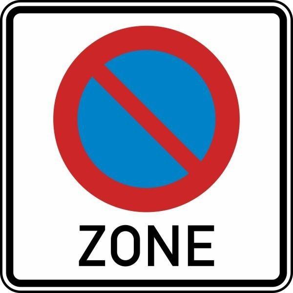 Beginn eines eingeschränkten Haltverbots für eine Zone Nr. 290.1 nach STVO