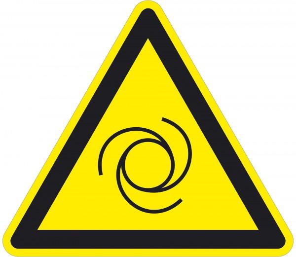 Warnzeichen / automatischer Anlauf / für Bodenmarkierung (indoor), PVC-antirustch, ASR 1.3