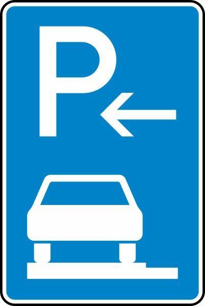 Parken auf Gehwegen Ende Nr. 315-62 nach STVO