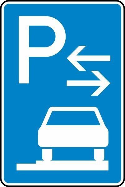 Parken auf Gehwegen Mitte Nr. 315-68 nach STVO