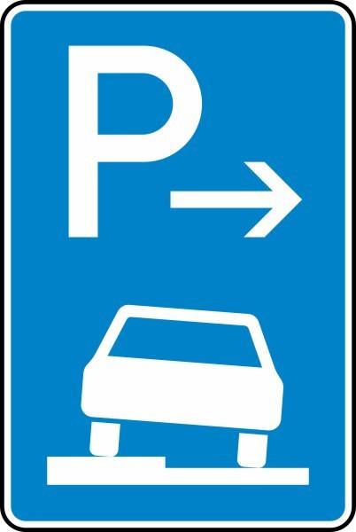 Parken auf Gehwegen Anfang Nr. 315-51 nach STVO