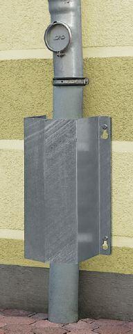 """Rohrschutz, klein """"MORION"""", 4,0 mm Wandstärke, zum Aufdübeln"""
