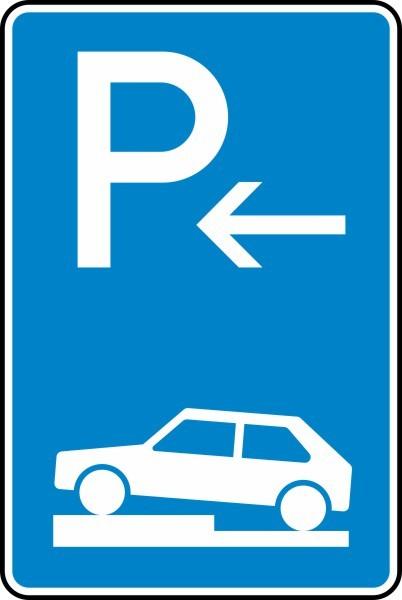 Parken auf Gehwegen Ende Nr. 315-72 nach STVO