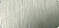 Pfostenfarbe Edelstahl gebürstet