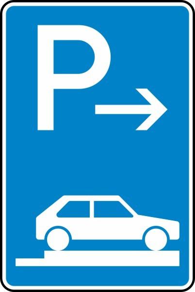 Parken auf Gehwegen Ende Nr. 315-87 nach STVO