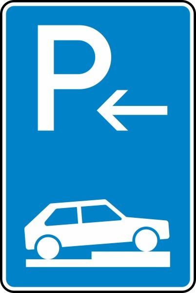 Parken auf Gehwegen Anfang Nr. 315-76 nach STVO