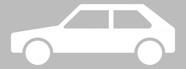 Symbol PKW, thermoplastische Fahrbahnmarkierung