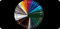 verzinkt + farbbeschichtet RAL nach Wahl