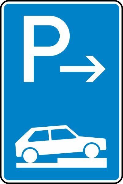 Parken auf Gehwegen Ende Nr. 315-77 nach STVO