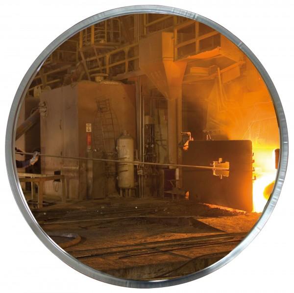 Spiegel für spezielle Umgebung (industrielle Standorte) in Edelstahl-Qualität