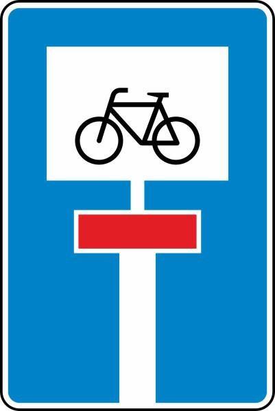 Für Radverkehr durchlässige Sackgasse Nr. 357-52 nach STVO
