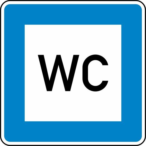 Toilette Nr. 365-58 nach STVO