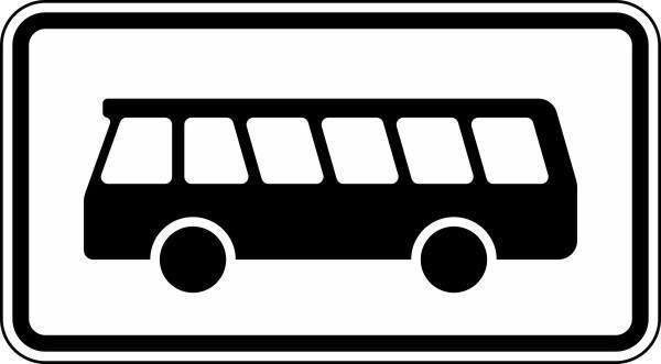 Nur Kraftomnibusse Nr. 1048-16 nach STVO