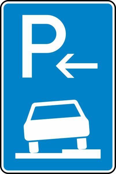 Parken auf Gehwegen Anfang Nr. 315-56 nach STVO