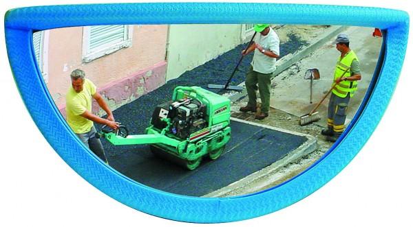 Rückspiegel für Baumaschinen Vialux®, in P.A.S,®-Qualität, 288x27x128 mm
