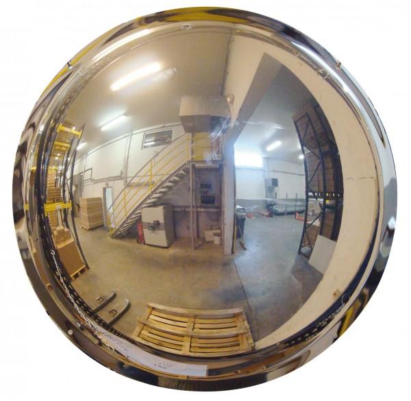 Sicherheitsspiegel 1/2-kugelförmig Vialux®, in Polymir®3-Qualität, Ø 570 mm