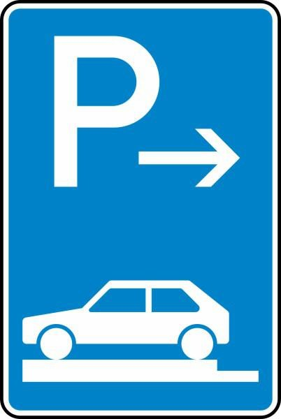 Parken auf Gehwegen Anfang Nr. 315-81 nach STVO