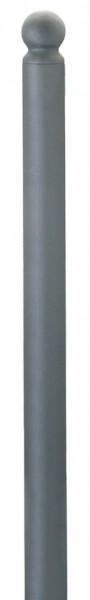 Stahlpoller CITYTREND, Ø76mm, ortsfest, verschiedene Kopfvarianten, zum Aufdübeln