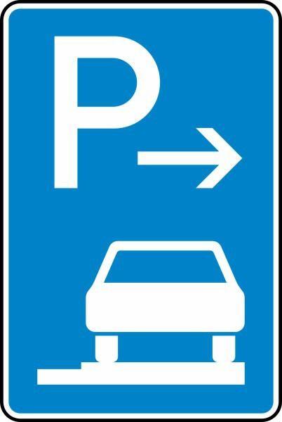 Parken auf Gehwegen Ende Nr. 315-67 nach STVO