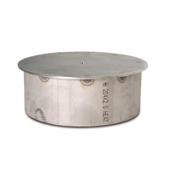 Abdeckkappe Bodenhülse ohne Verschluss für Ø 204 mm Citypoller