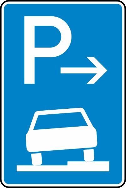 Parken auf Gehwegen Ende Nr. 315-57 nach STVO