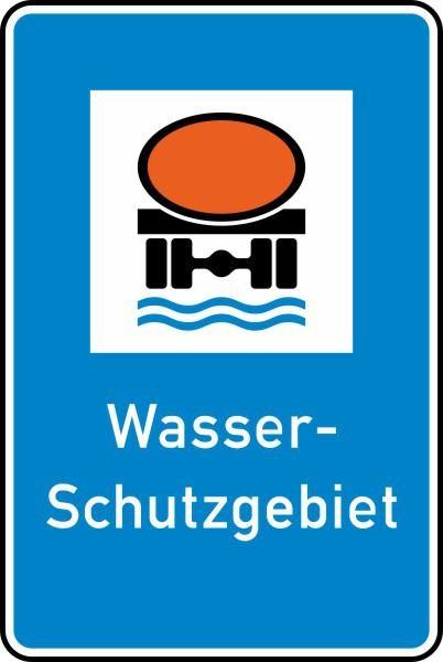 Wasserschutzgebiet Nr. 354 nach STVO