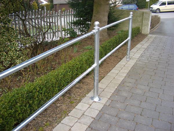 Aluminium-Gelenkstück für Schutzgeländer/Rabattengeländer-System