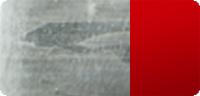 Beschichtung nur verzinkt mit rot refl. Leuchtstreifen