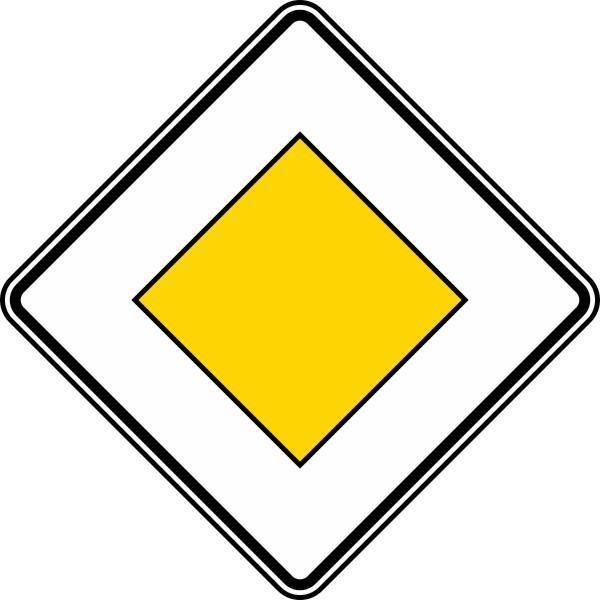 Vorfahrtstraße Nr. 306 nach STVO