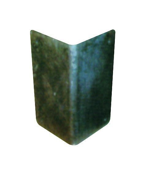 Eckrammschutz aus Stahlblech, 3 mm, zum Aufdübeln